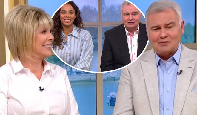Ruth Langsford was absent from Friday's This Morning