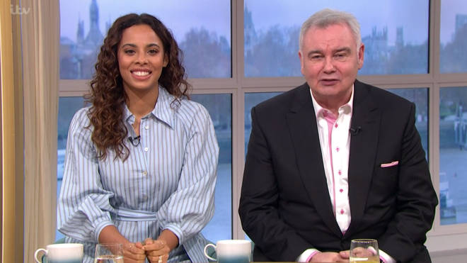 Rochelle Humes stepped in for Ruth Langsford on Friday