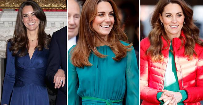 The mum recreates Kate's looks on Instagram
