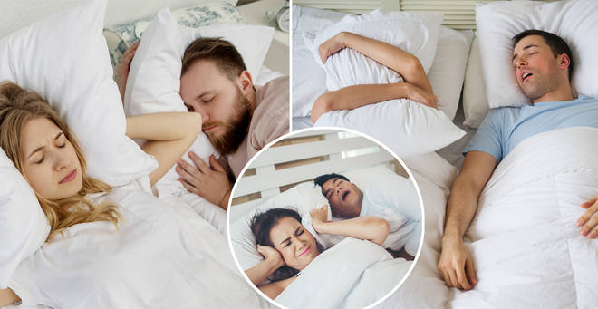 Is your partner a snorer? Read on... (stock images)