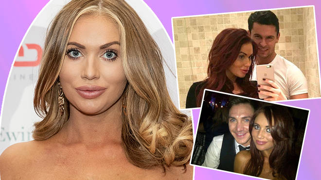 Amy Childs has been linked to a string of good looking men over the years...
