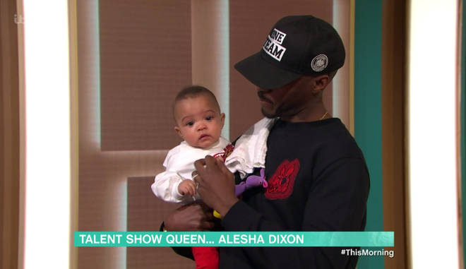 Alesha's family were at This Morning with her