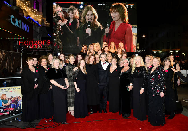 The Military Wives attended the premiere of the film