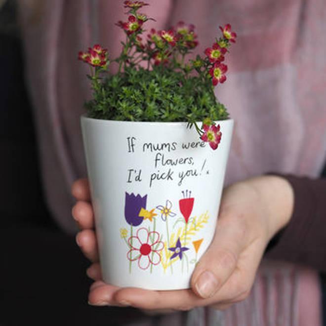 Flower pot vase gift