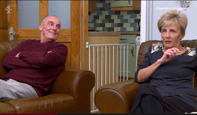 Dave and Shirley have been on Gogglebox for years