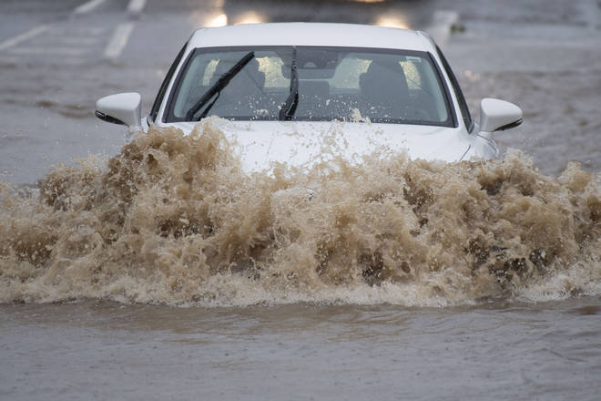 Wet Weather In Wales Heralds Arrival Of Storm Jorge This Weekend
