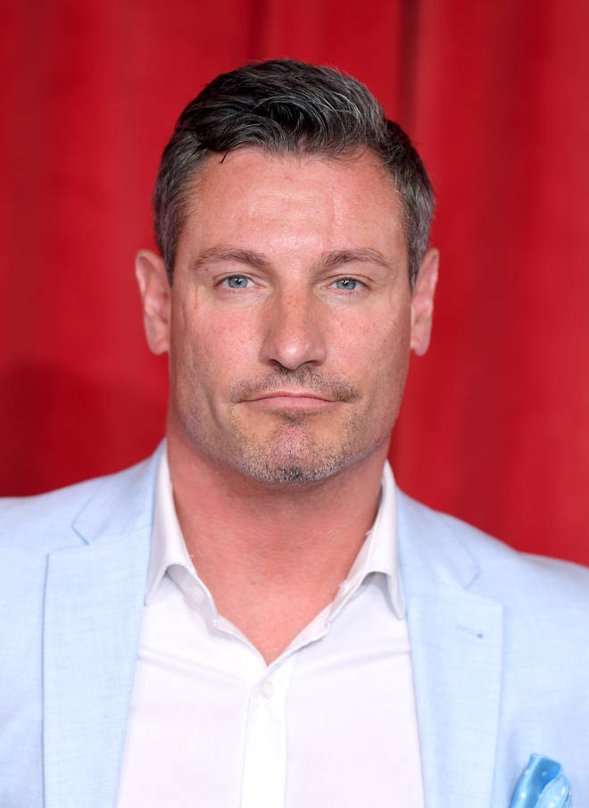 Dean Gaffney first played Robbie on EastEnders from 1993 to 2003