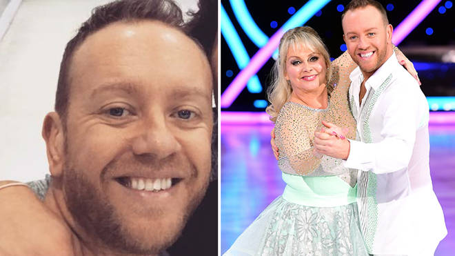 Dan Whiston is still part of the Dancing On Ice family