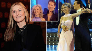 Fiona Phillips was partnered with Brendan Cole on Strictly
