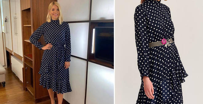 Holly Willoughby's polka dot dress costs £250