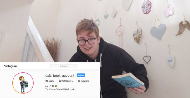 Callum Manning now has hundreds of thousands of Instagram followers