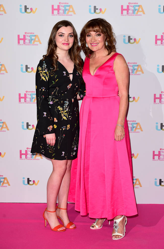 Lorraine pictured with her daughter Rosie a few years ago