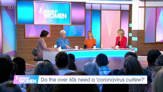 The Loose Women panelists discussed Coronavirus on today's show