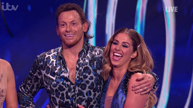 Joe Swash impressed with his solo skate on Dancing On Ice
