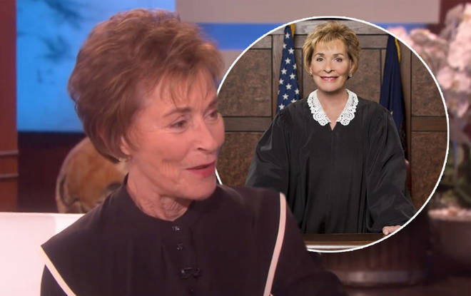Judge Judy announced the end of her self-titled show on Ellen