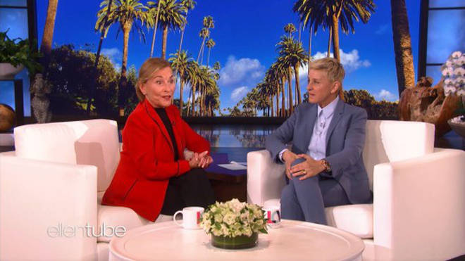 Judge Judy spoke to Ellen on her chat show earlier this week