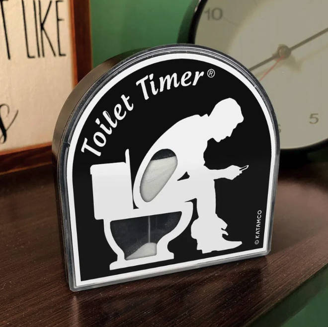 The Toilet Timer by Katamco