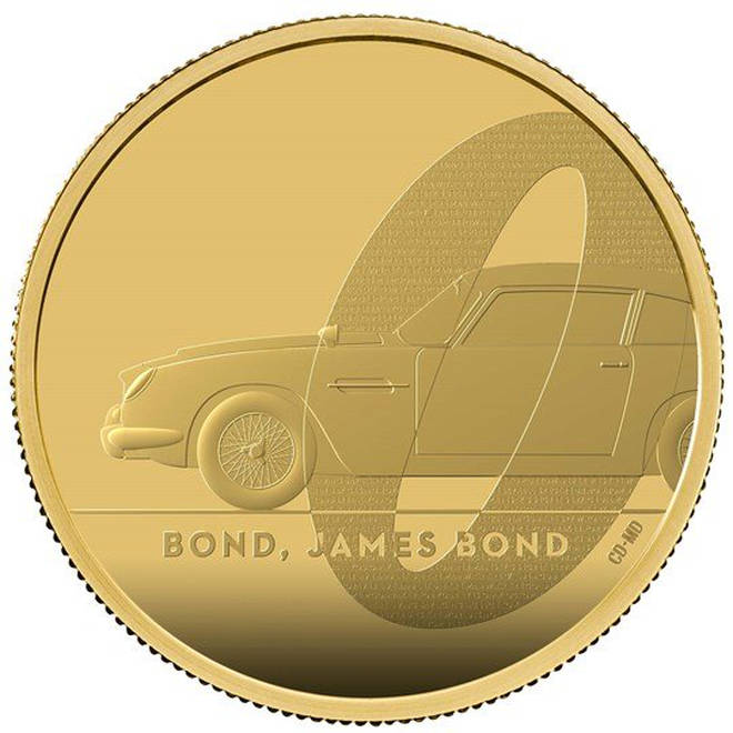 Bond, James Bond 2020 UK Two-Ounce Gold Proof Coin