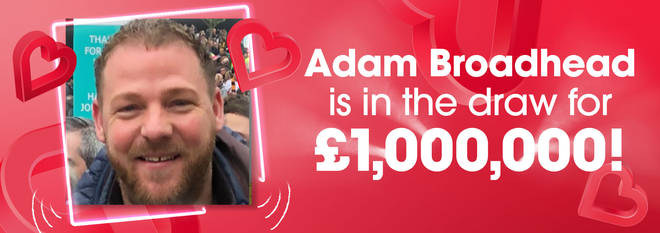 It wasn't a difficult decision for Adam!