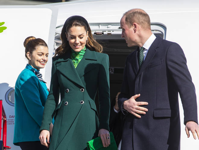 The Duke and Duchess of Cambridge will be in Ireland for three days on a tour of the country