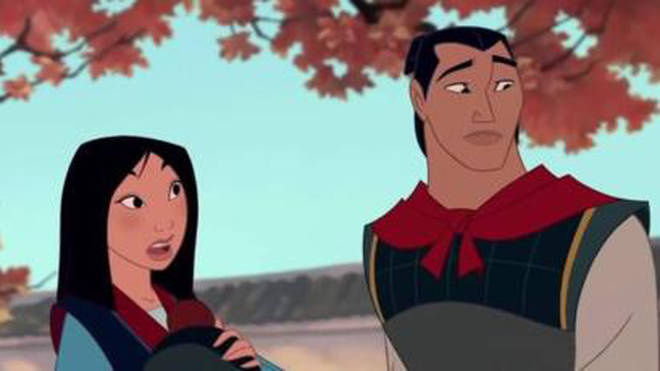 Disney have said Li Shang won't be in the film because of Met Too