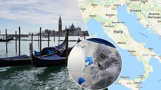 Italy is one of the European coronavirus hotspots