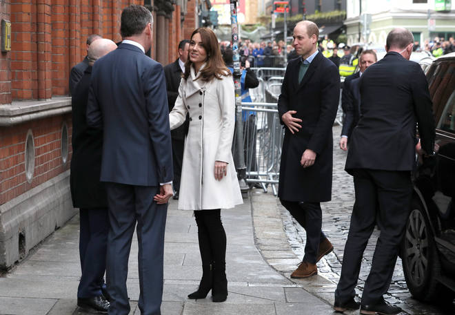 The Duchess of Cambridge wore a coat she was first seen wearing back in 2008