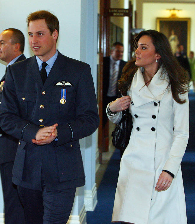 Kate Middleton first wore the Reiss coat in 2008