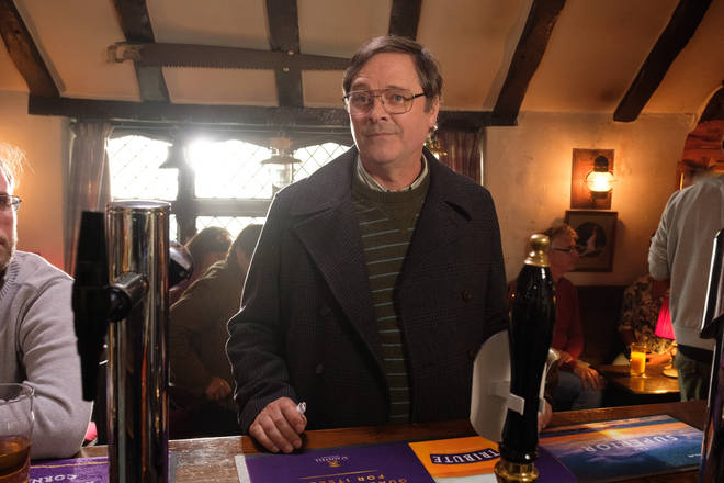Mark Heap plays Peter Cole in The Trouble with Maggie Cole