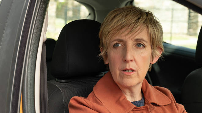 Julie Hesmondhalgh plays Jill in The Trouble with Maggie Cole