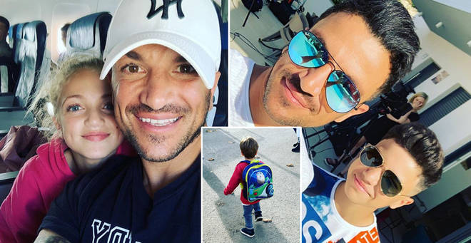 Peter Andre's family life revealed