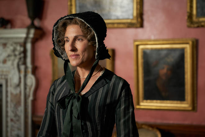 Tamsin Greig is playing Anne Trenchard in Belgravia