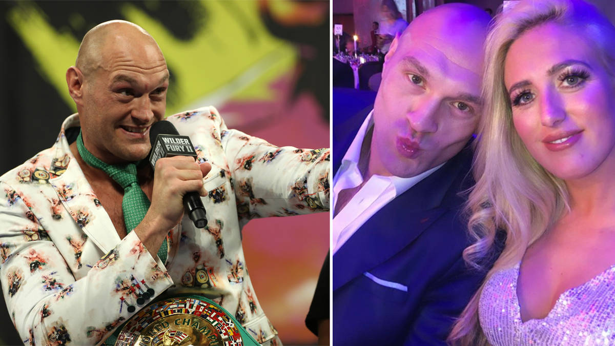 Who Is Tyson Fury S Wife Paris How Many Children Does He Have