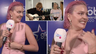 Anne-Marie has revealed she's working on new music with Ed Sheeran
