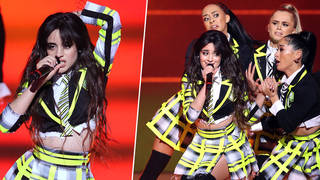 Camila Cabello performed at The Global Awards 2020