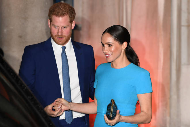 Meghan Markle and Prince Harry showed their usual PDA during the event