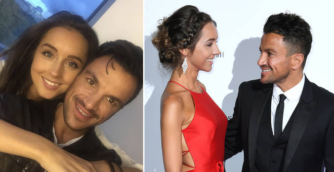 Peter Andre has shared a loved-up picture with Emily MacDonagh