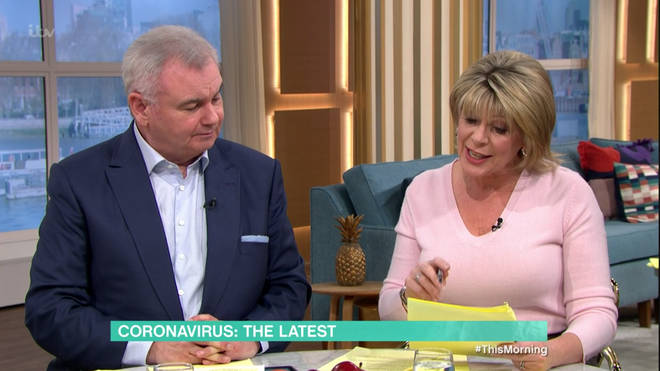 Eamonn and Ruth read out concerns from viewers about Coronavirus
