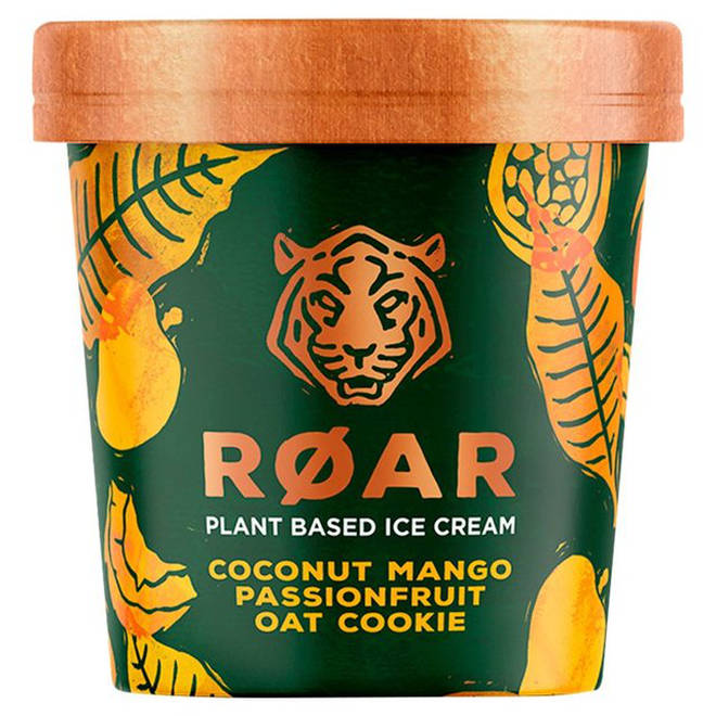 Roar plant based ice cream