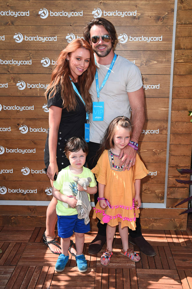Una and Ben have two children, Aoife Belle, seven, and Tadhg, five.