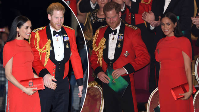 The couple undertook one of their last ever official royal engagements.