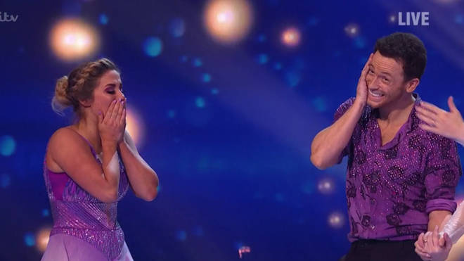 Joe Swash and professional Alex Murphy were named the winners of the 12th series of Dancing On Ice