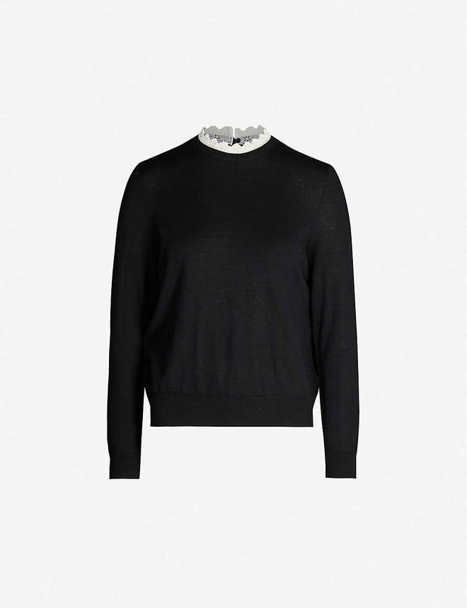 Holly Willoughby's jumper is designed by Sandro