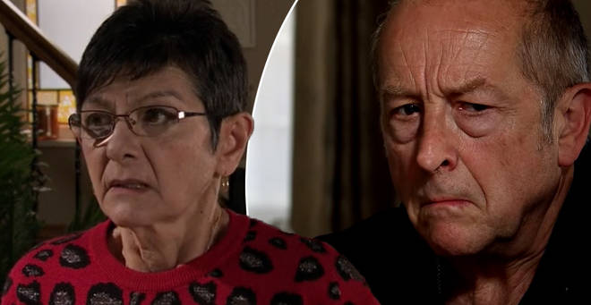 Geoff has been tormenting Yasmeen on Coronation Street