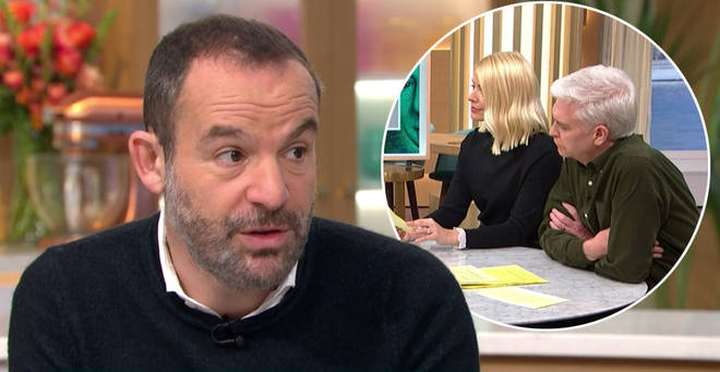 Martin Lewis appeared on This Morning