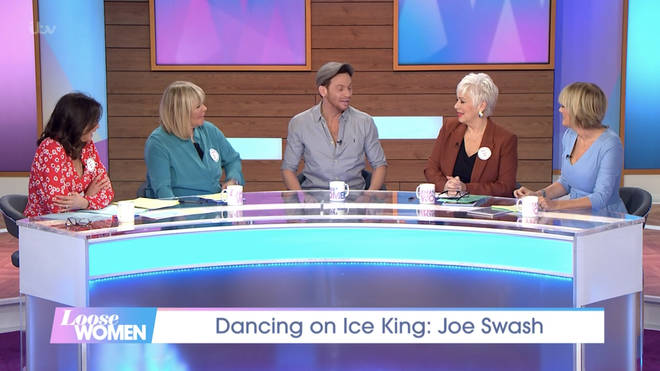 Denise asked Joe the cheeky question