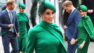 Meghan Markle and Prince Harry arrived at Westminster Abbey hand-in-hand
