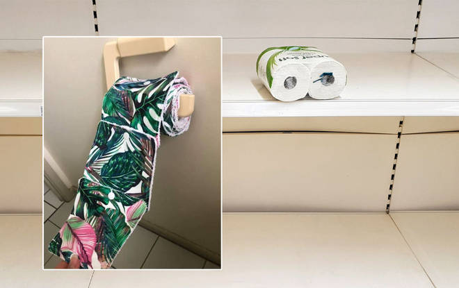 The reusable toilet roll was shared in an Australian Facebook group
