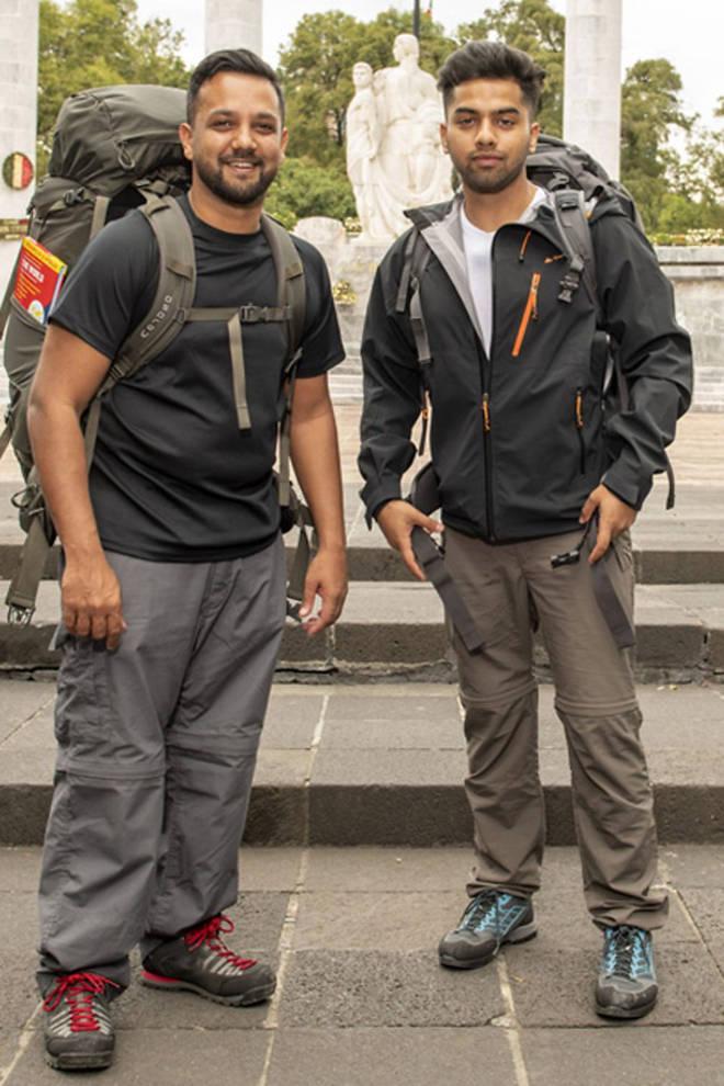 Emon and his nephew Jamiul