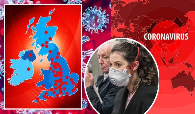 The UK's cases of coronavirus are increasing daily